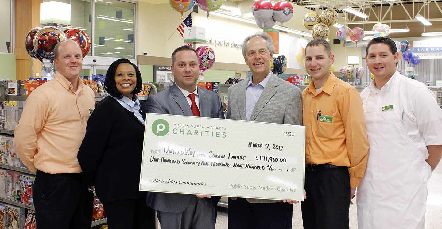 UWCE Receives $171,900 From Publix Super Markets