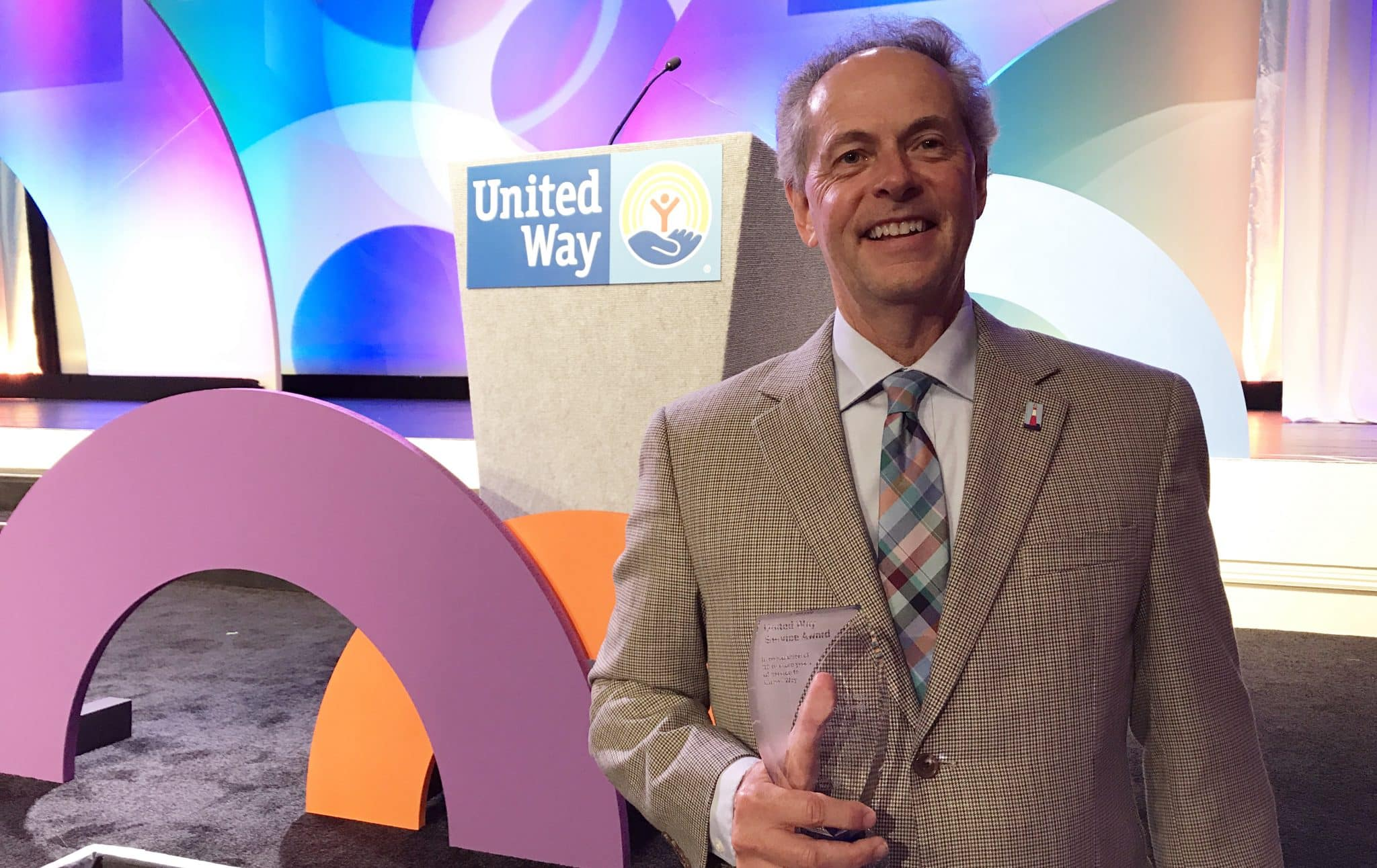 Gregg Schroeder Is Recognized By United Way For 30 Years Of Service