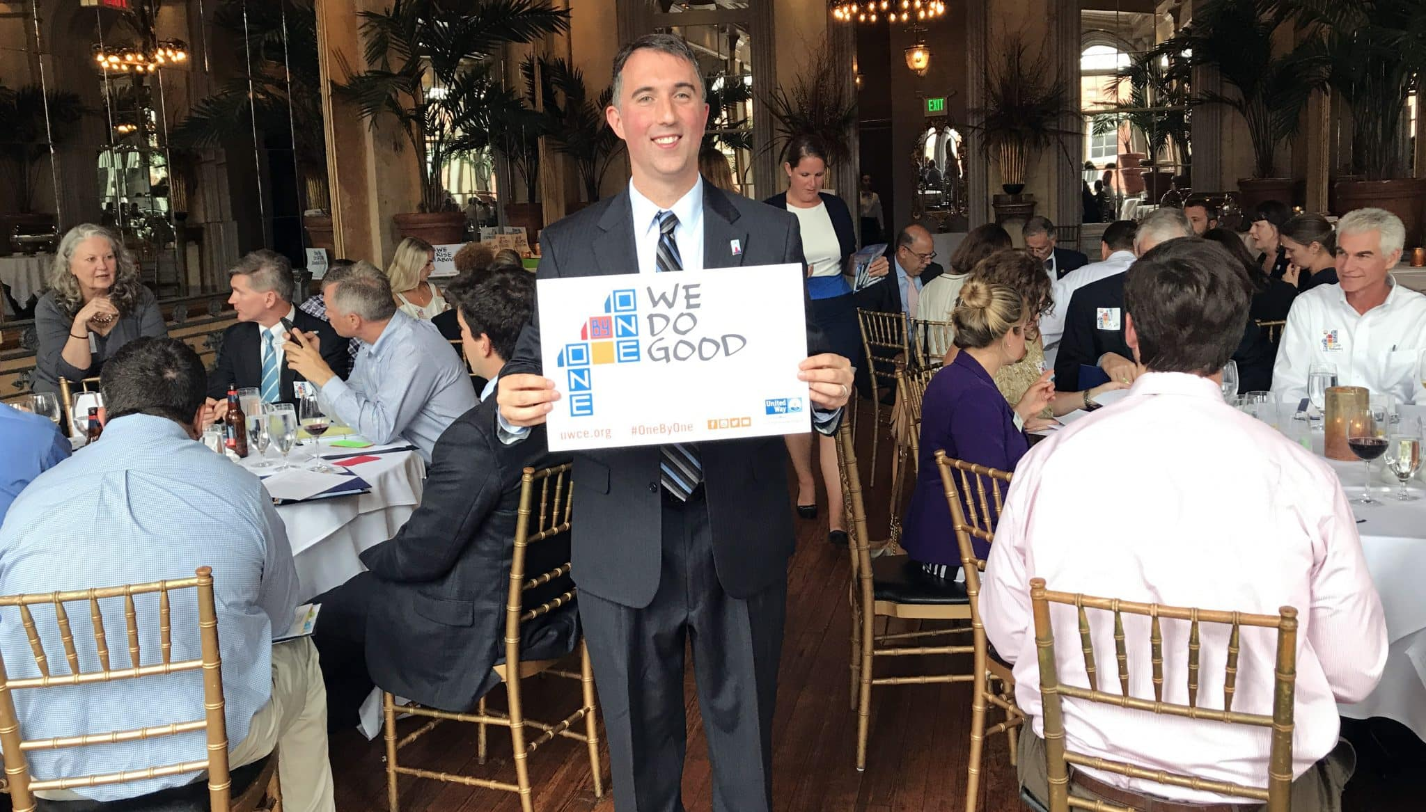 Dr. Todd Cellini Leads United Way's One By One Campaign