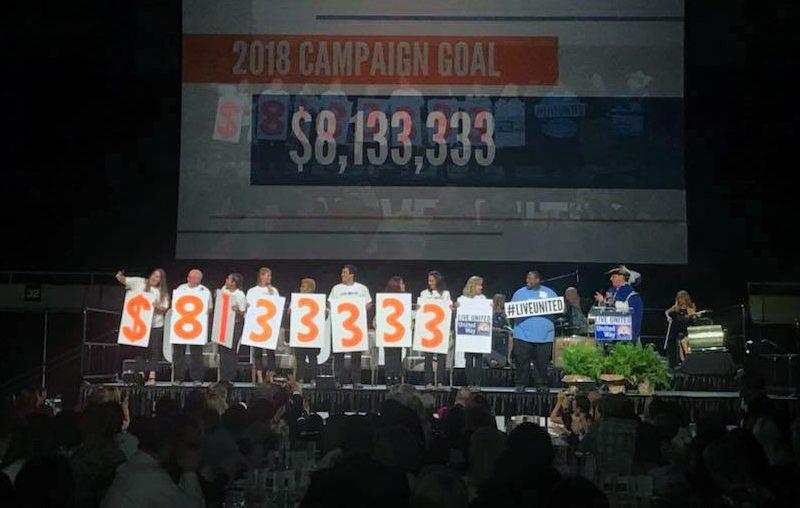 UWCE Sets The Bar At $8,133,333 For 2018 Fundraising Effort